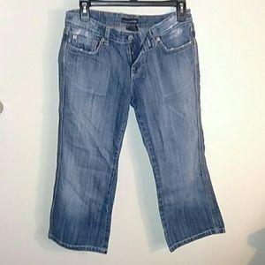 Juniors Refuge capri jeans